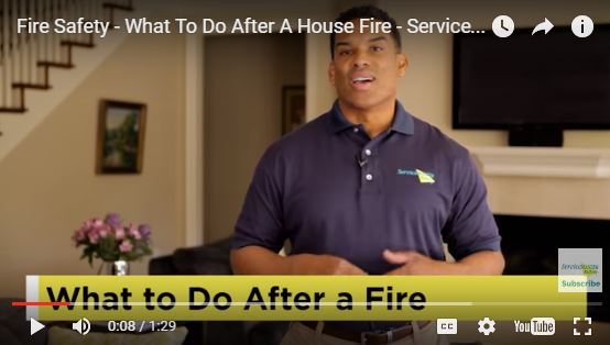 Fire Safety – What To Do After A House Fire
