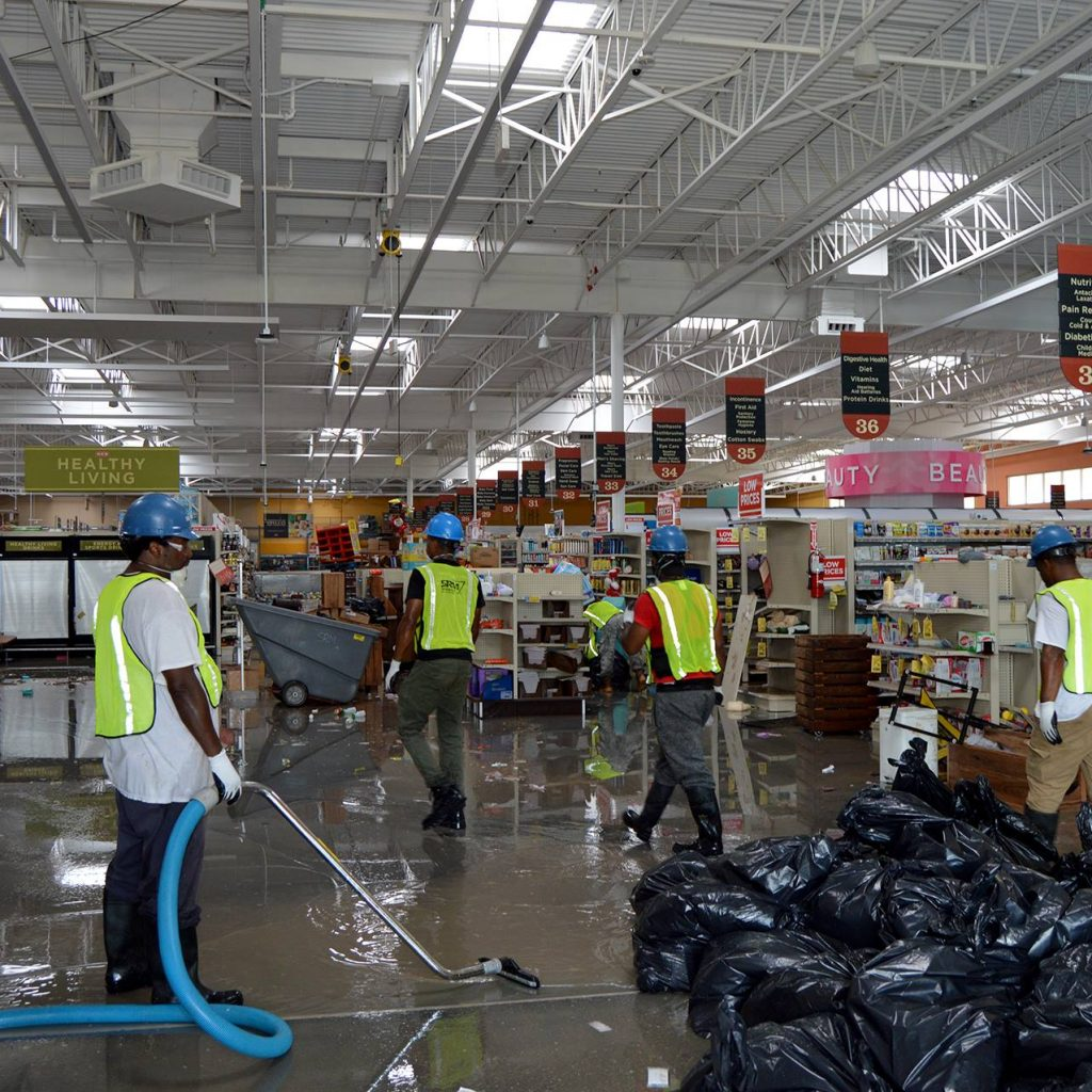 Servicemaster Flood Cleanup Hurricane Harvey 6