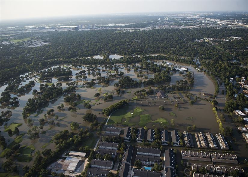 Hurricane Harvey TX