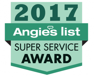 Angie's List Super Service Award 2017 Winner