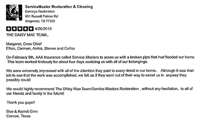 servicemaster houston review
